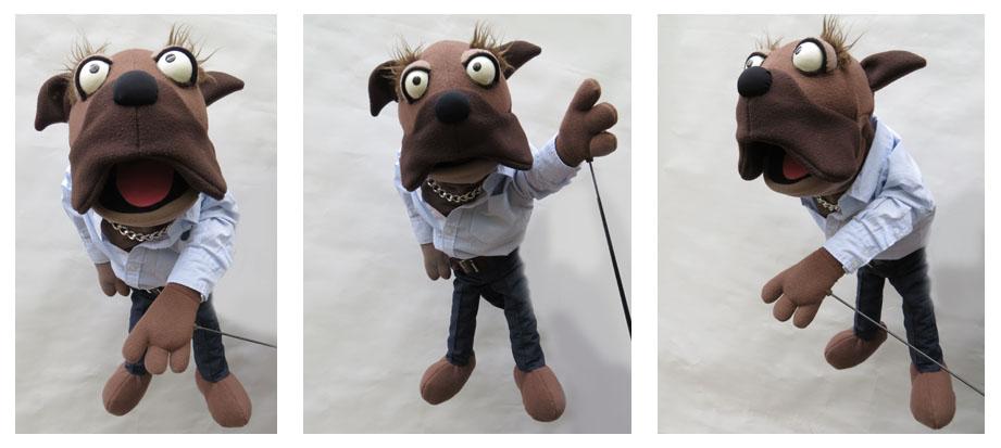 Klappmaulpuppe als Hund für rio Nord GmbH BigPictureMags