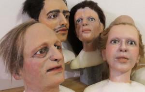 Puppenbau für Theater Marmelock